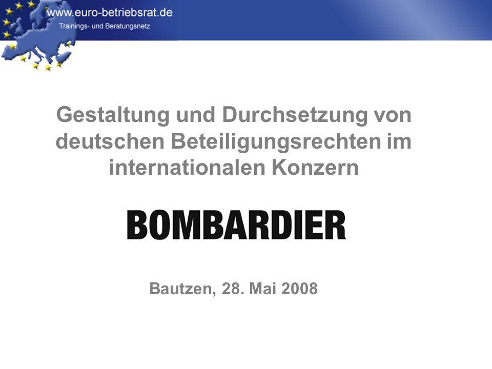 Gestaltung und Durchsetzung von deutschen Beteiligungsrechten im internationalen Konzern