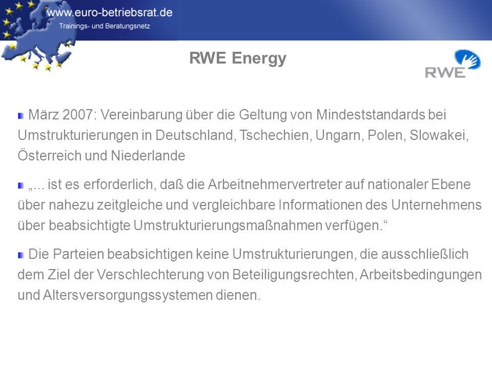 RWE Energy