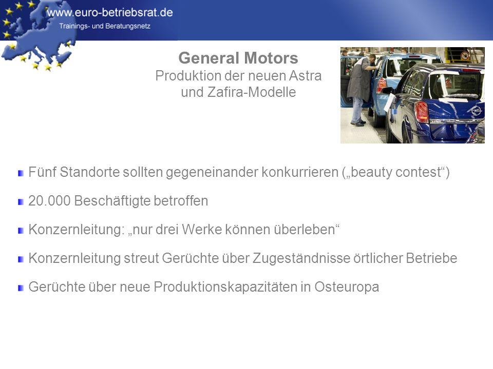 Produktion der neuen Astra
