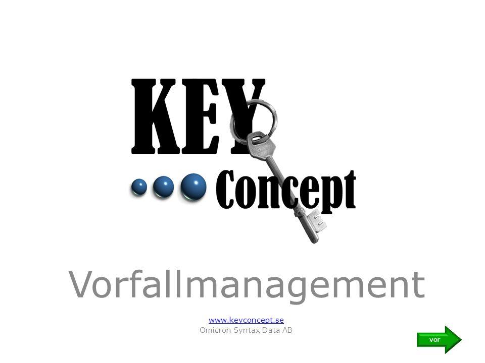 Vorfallmanagement www.keyconcept.se Omicron Syntax Data AB