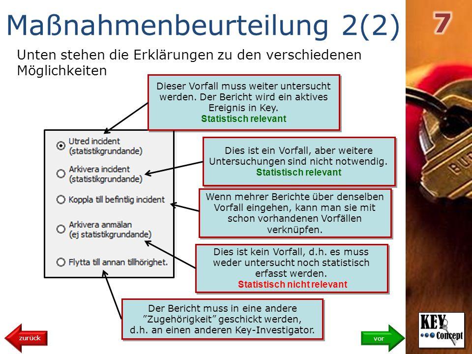 Maßnahmenbeurteilung 2(2)