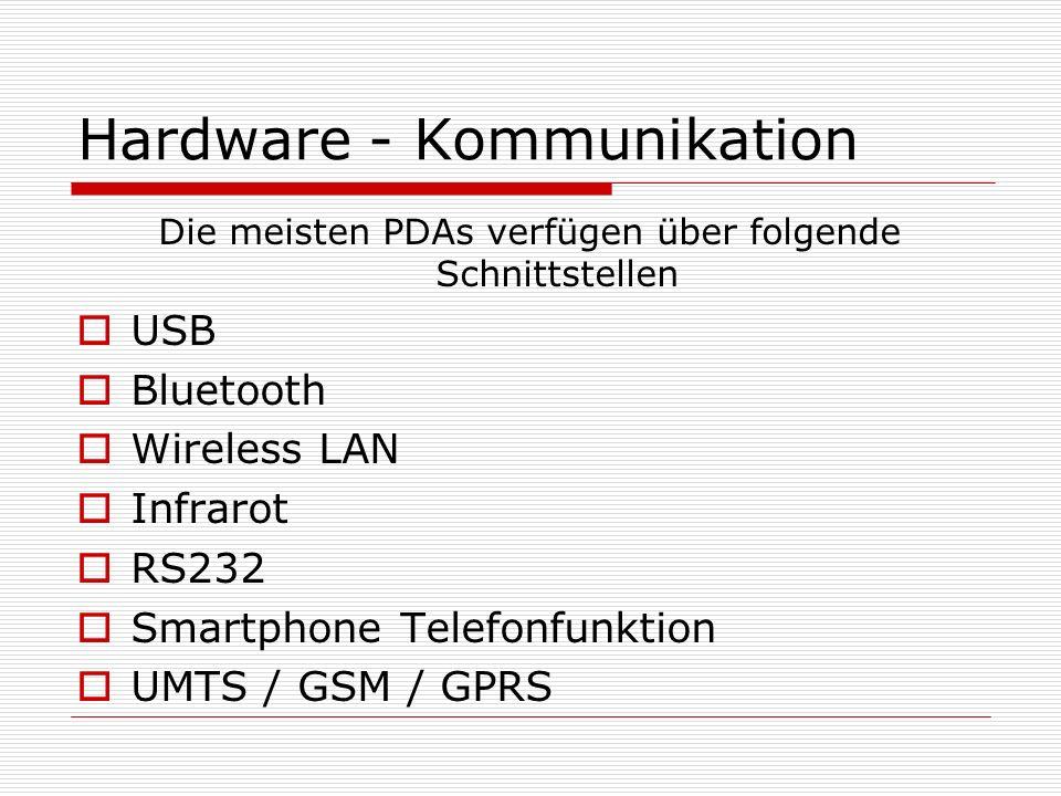 Hardware - Kommunikation
