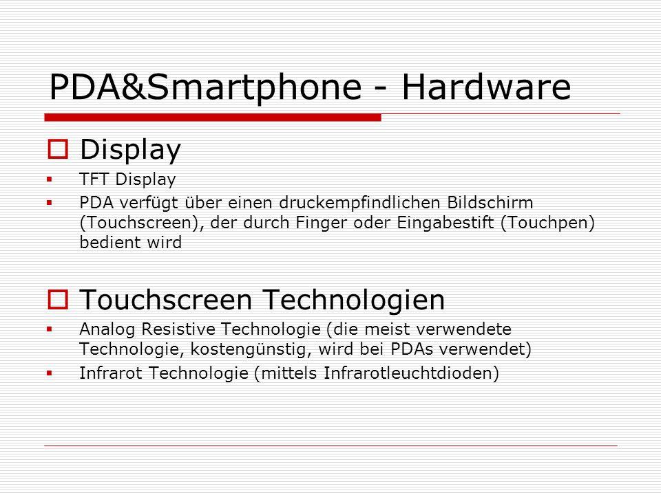 PDA&Smartphone - Hardware