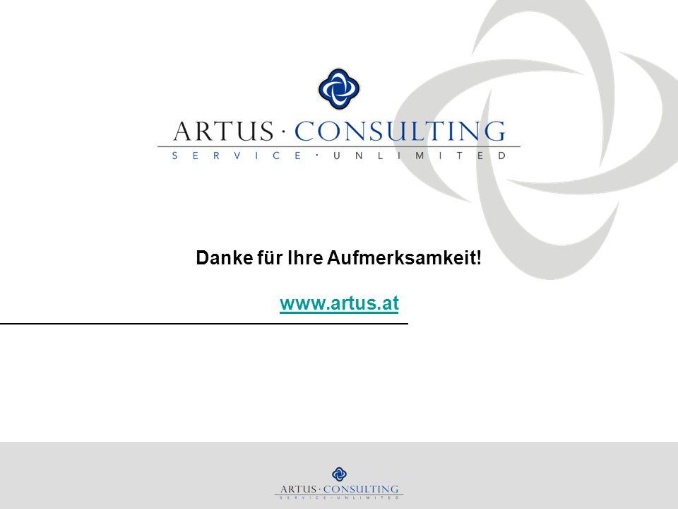 Danke für Ihre Aufmerksamkeit! www.artus.at