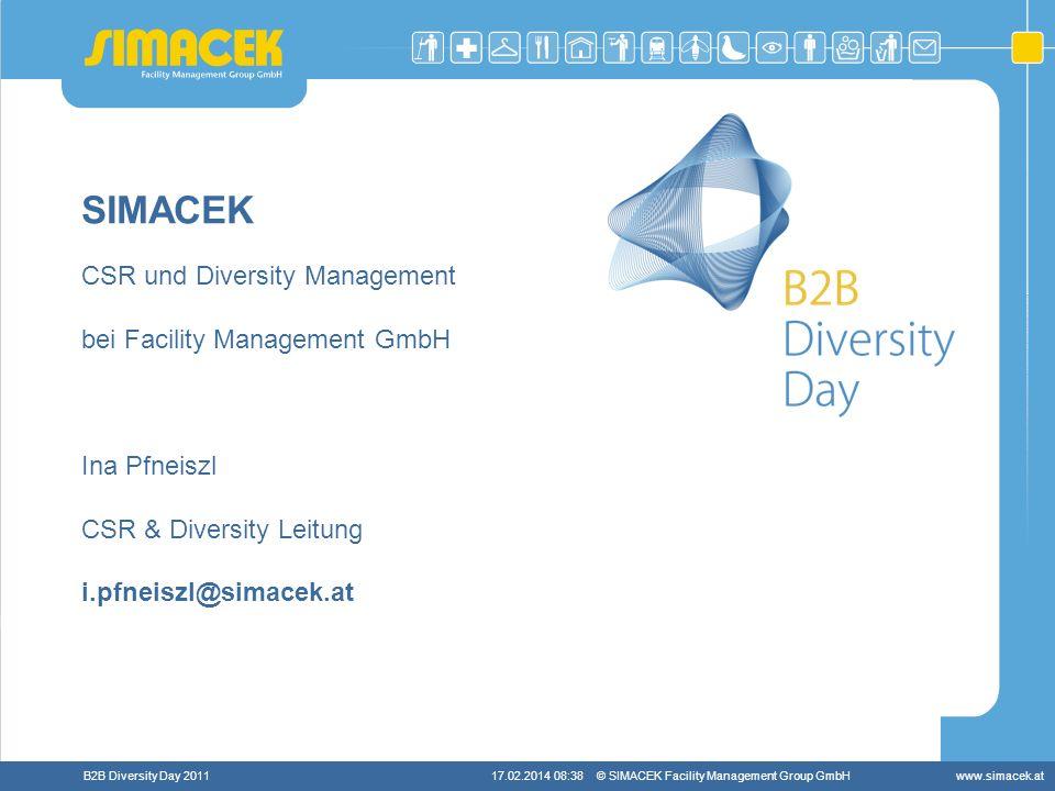 SIMACEK CSR und Diversity Management bei Facility Management GmbH