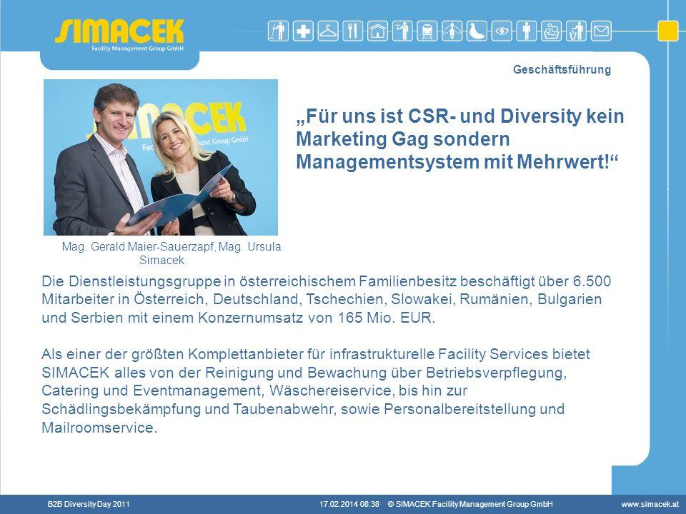 Mag. Gerald Maier-Sauerzapf, Mag. Ursula Simacek