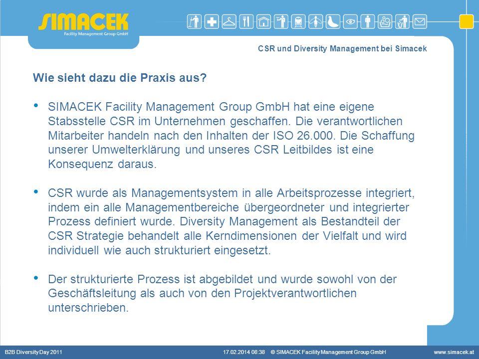 CSR und Diversity Management bei Simacek