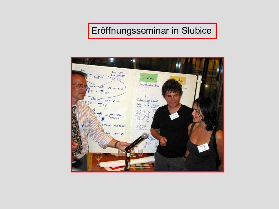 Eröffnungsseminar in Slubice