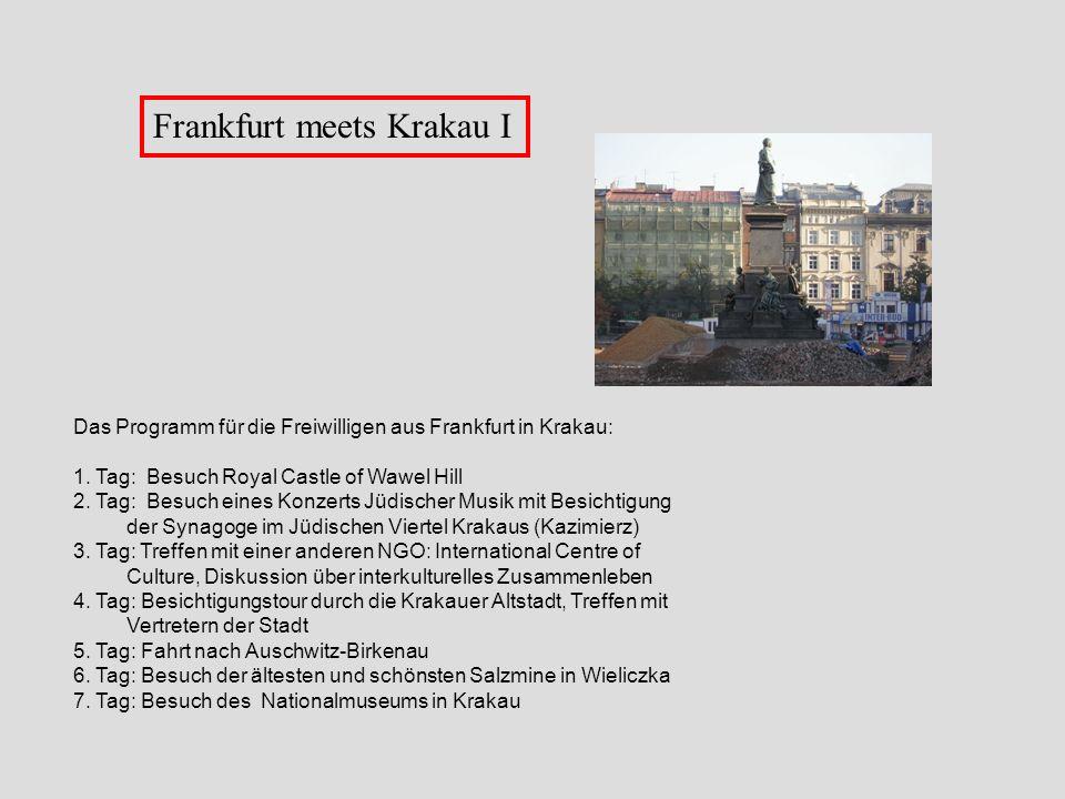 Frankfurt meets Krakau I