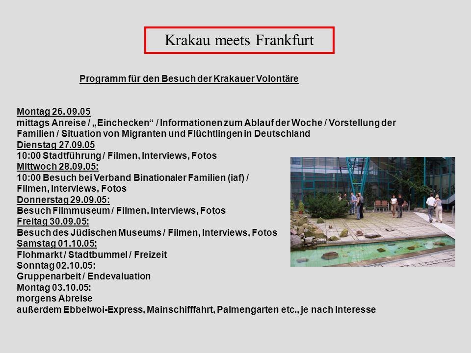 Krakau meets Frankfurt