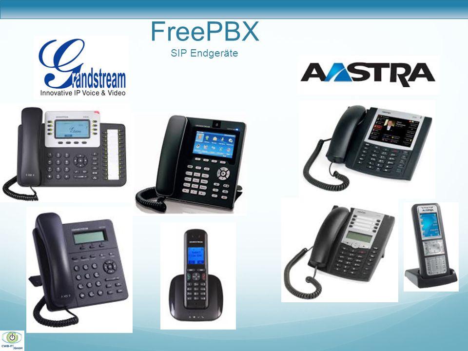 FreePBX SIP Endgeräte