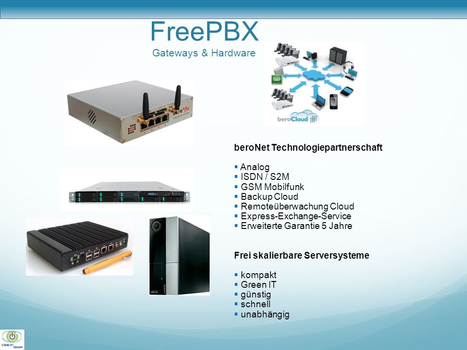 FreePBX Gateways & Hardware