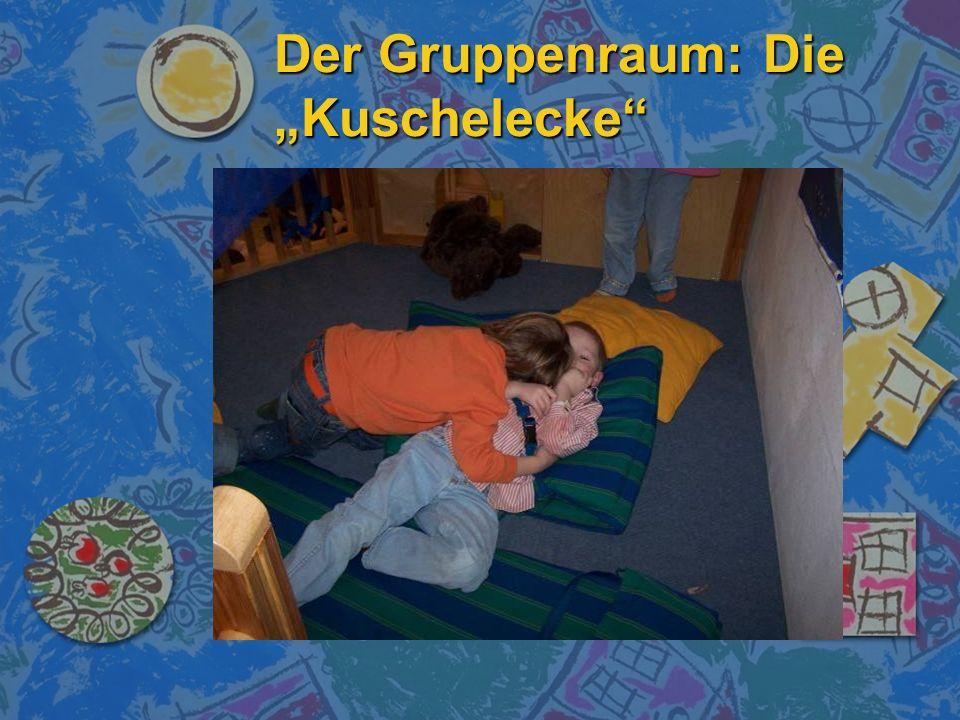 """Der Gruppenraum: Die """"Kuschelecke"""