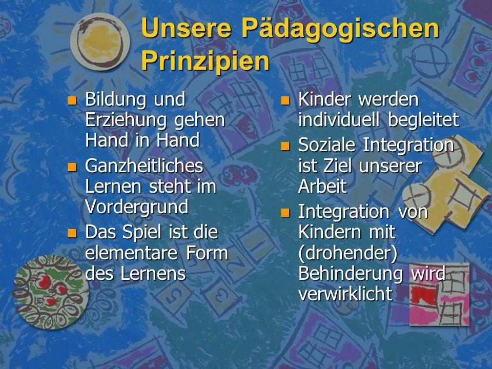 Unsere Pädagogischen Prinzipien