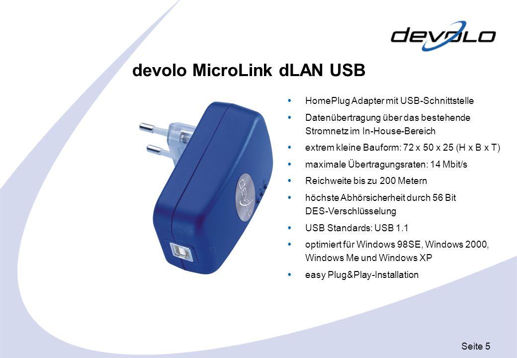 devolo MicroLink dLAN USB