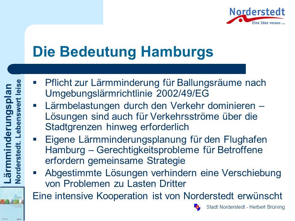 Die Bedeutung Hamburgs