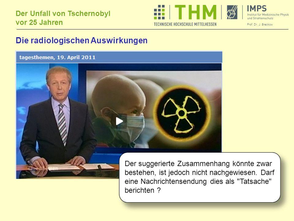 Die radiologischen Auswirkungen