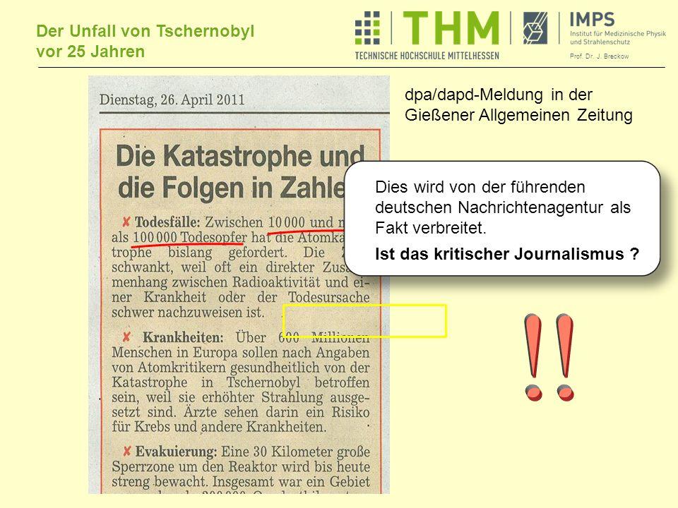 ! dpa/dapd-Meldung in der Gießener Allgemeinen Zeitung