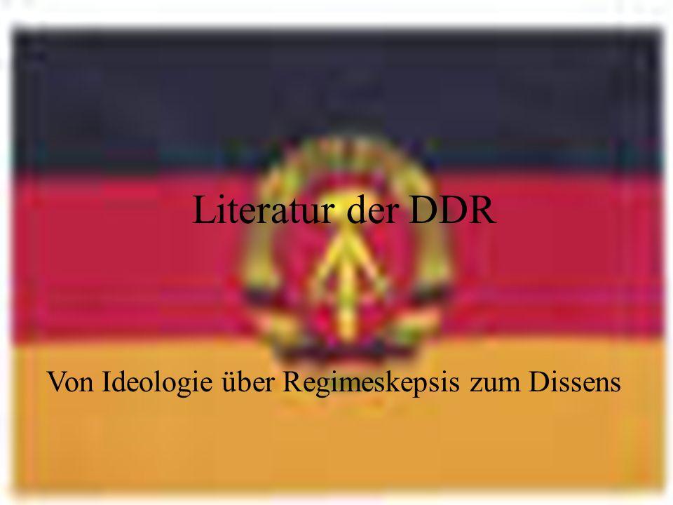 Von Ideologie über Regimeskepsis zum Dissens