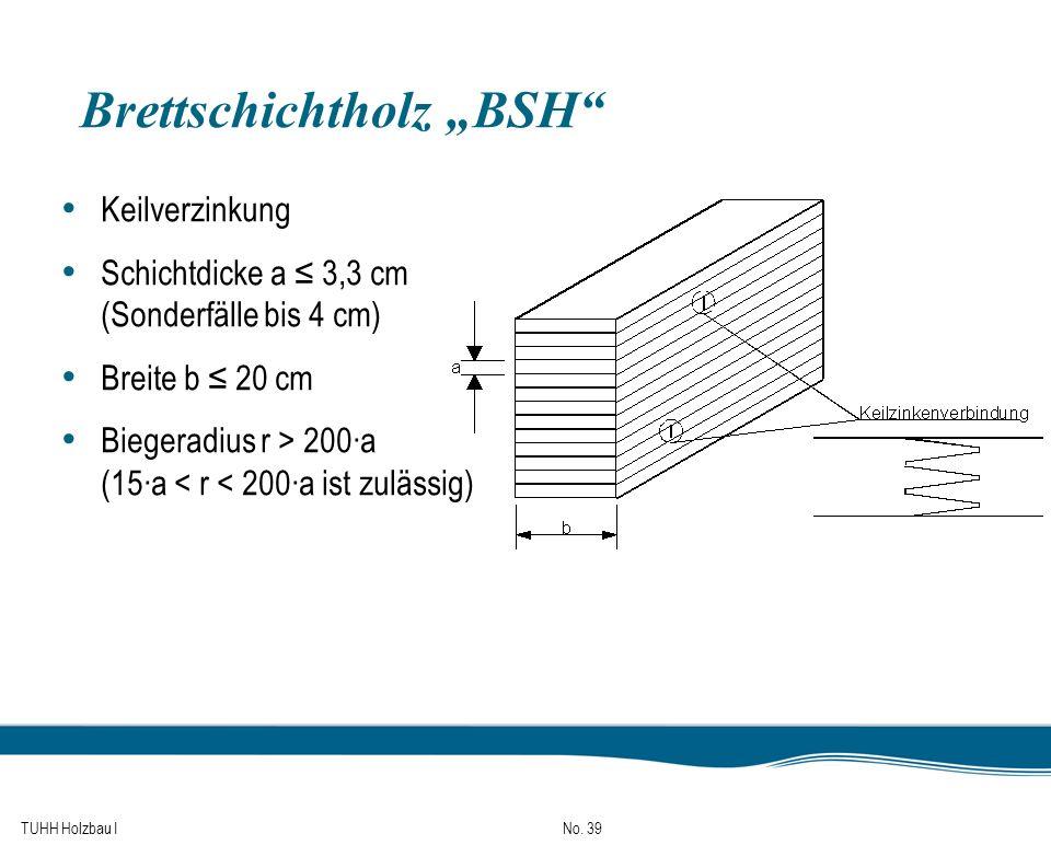 """Brettschichtholz """"BSH"""