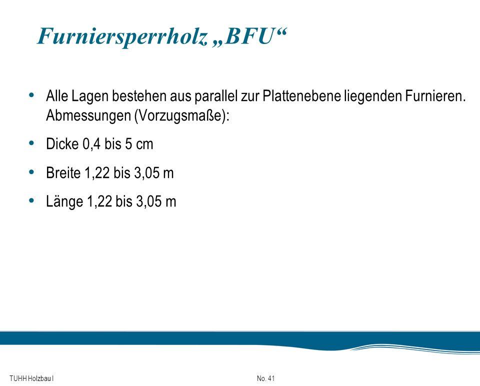 """Furniersperrholz """"BFU"""