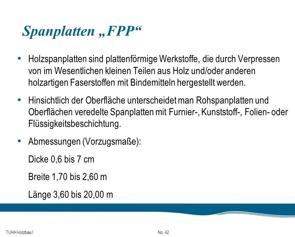 """Spanplatten """"FPP"""