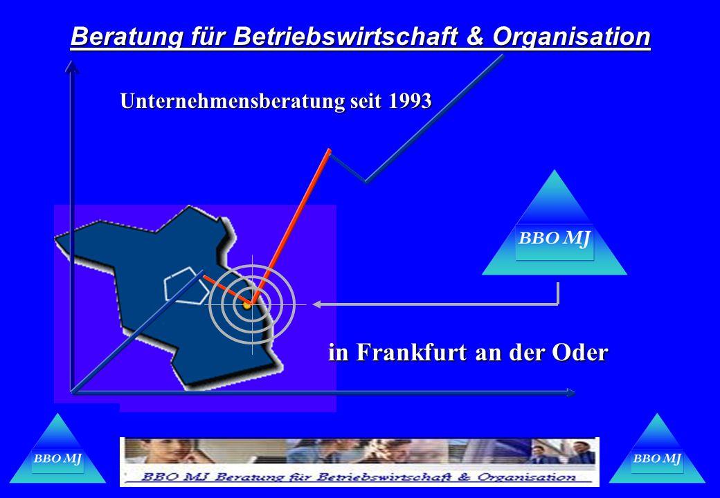 Beratung für Betriebswirtschaft & Organisation