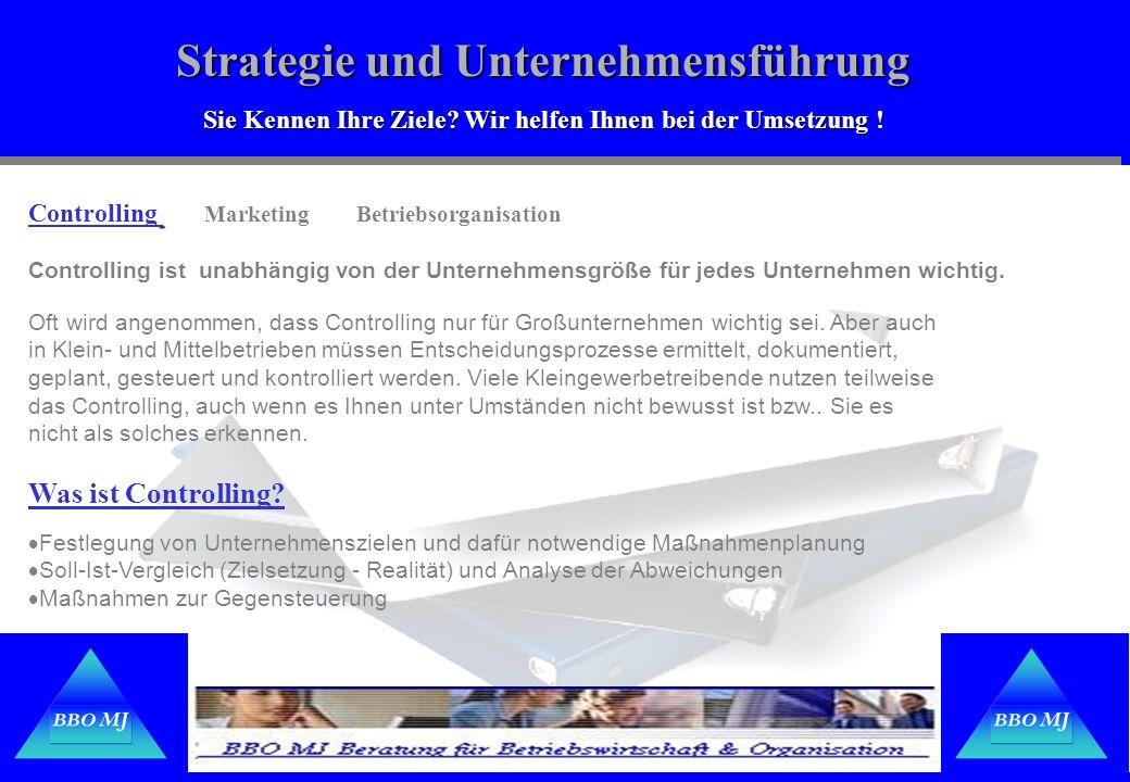 Strategie und Unternehmensführung