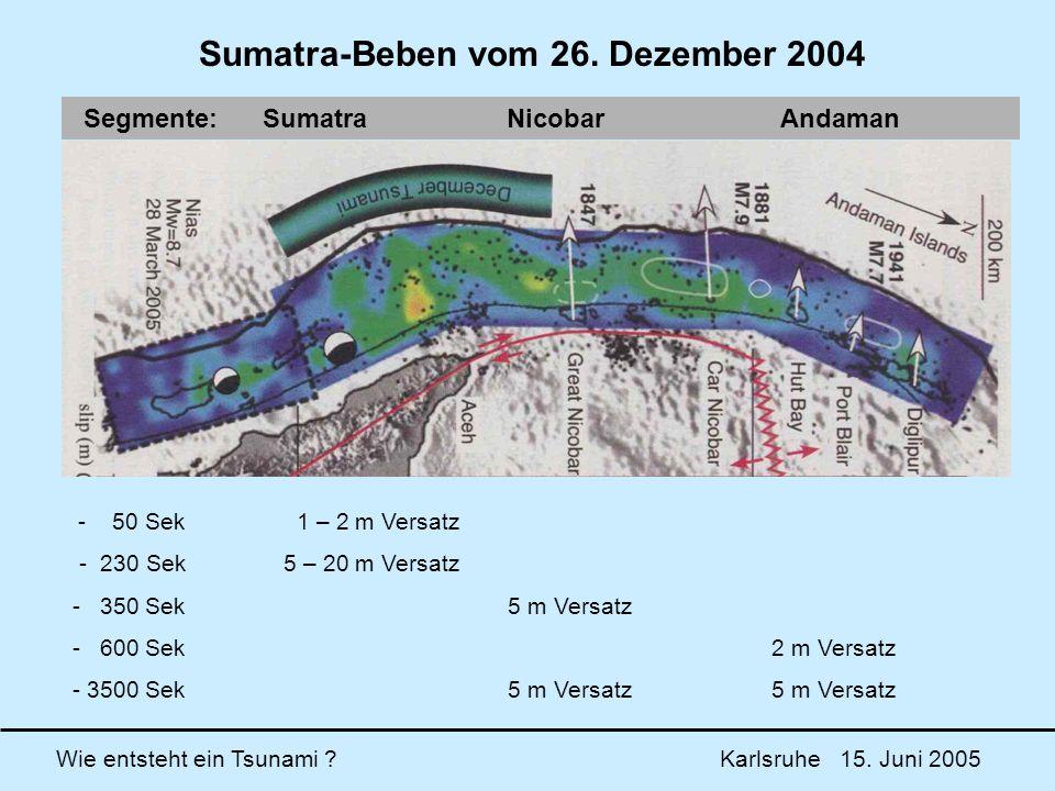 Sumatra-Beben vom 26. Dezember 2004