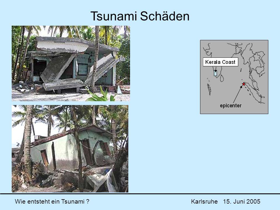 Tsunami Schäden