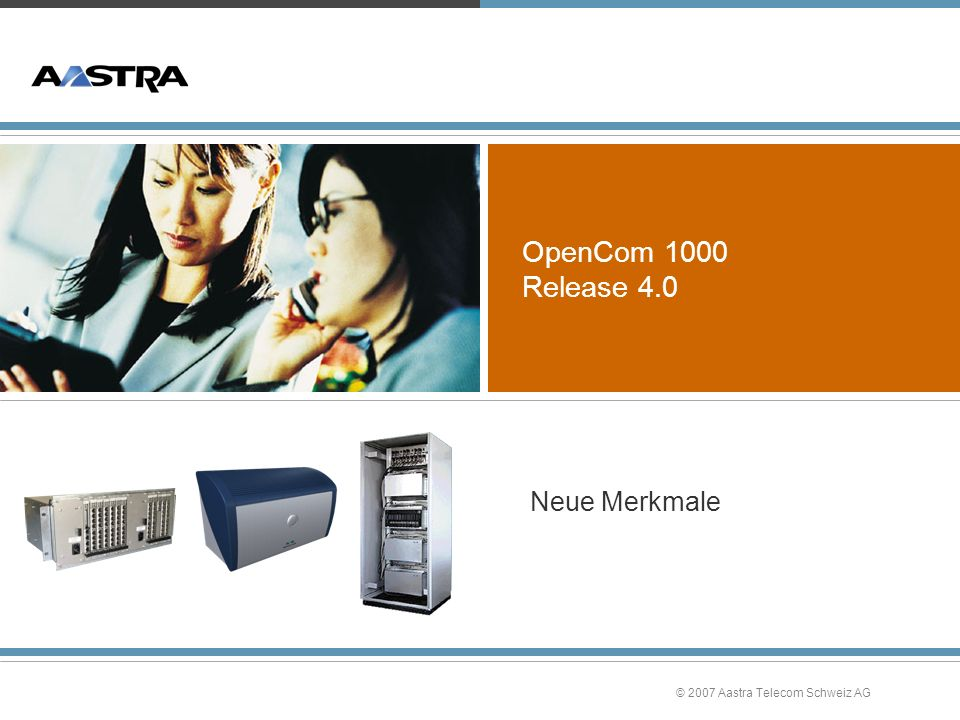 OpenCom 1000 Release 4.0 Neue Merkmale