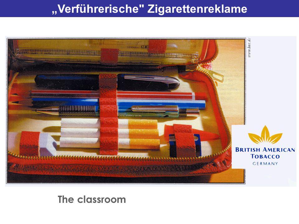 """""""Verführerische Zigarettenreklame"""