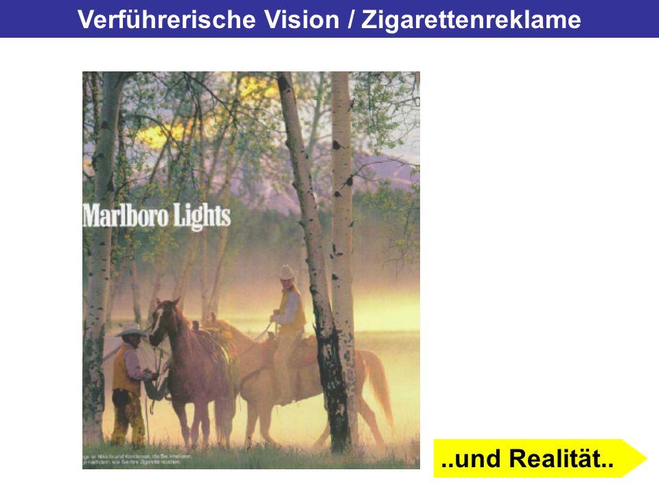 Verführerische Vision / Zigarettenreklame