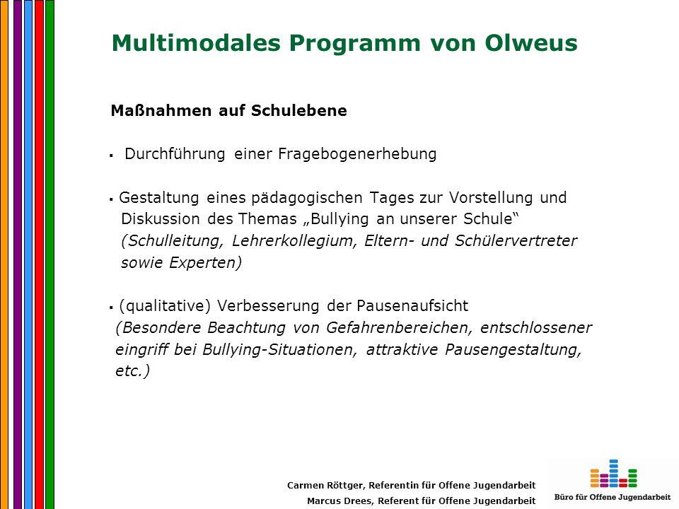 Multimodales Programm von Olweus