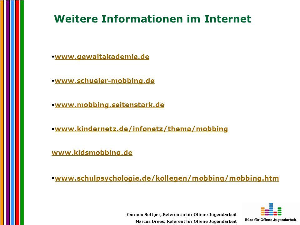 Weitere Informationen im Internet