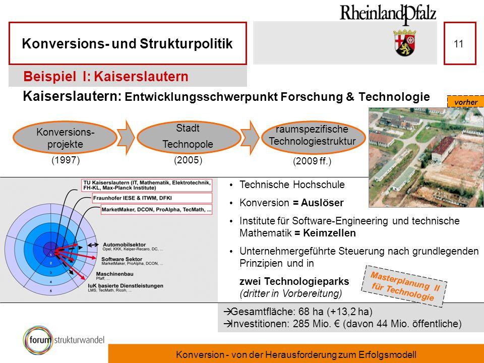 Kaiserslautern: Entwicklungsschwerpunkt Forschung & Technologie