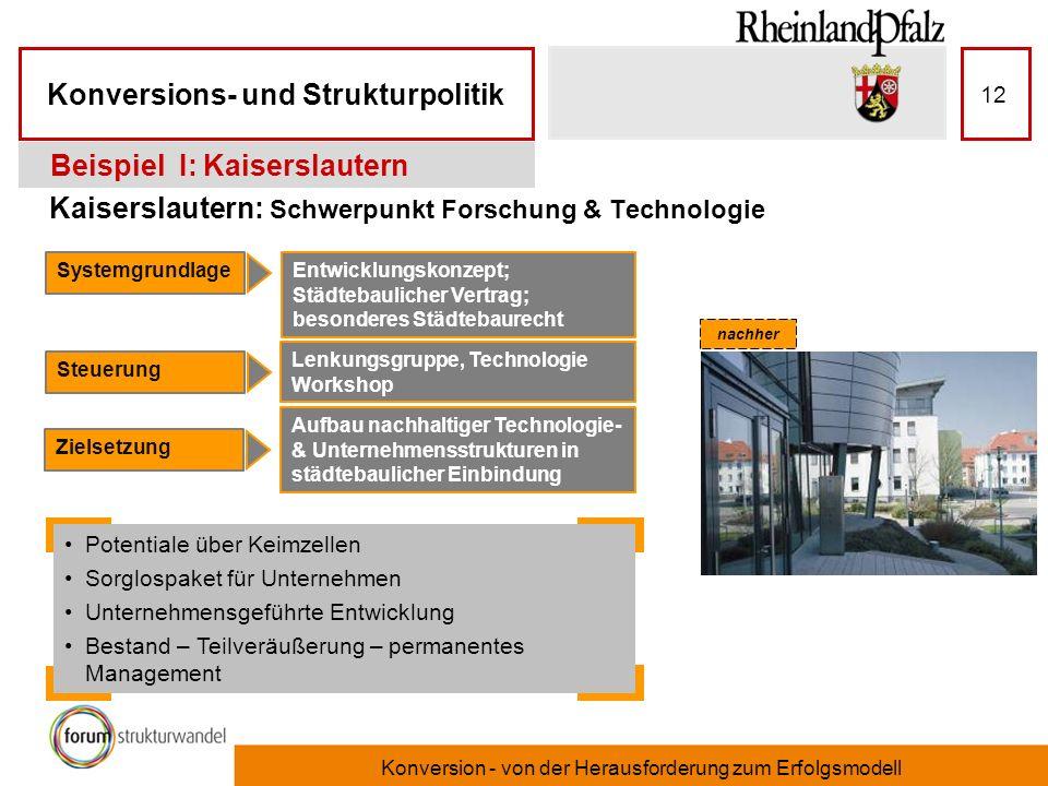 Kaiserslautern: Schwerpunkt Forschung & Technologie