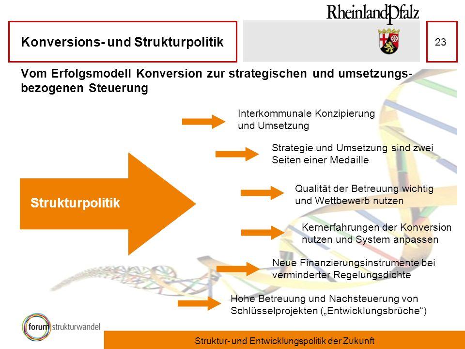 Struktur- und Entwicklungspolitik der Zukunft