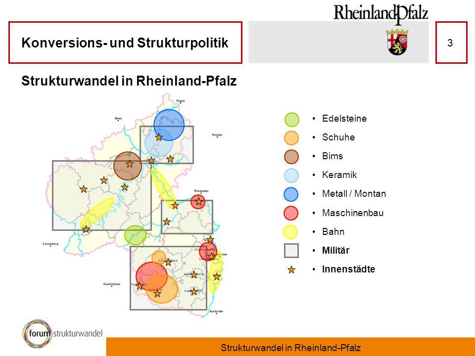 Strukturwandel in Rheinland-Pfalz