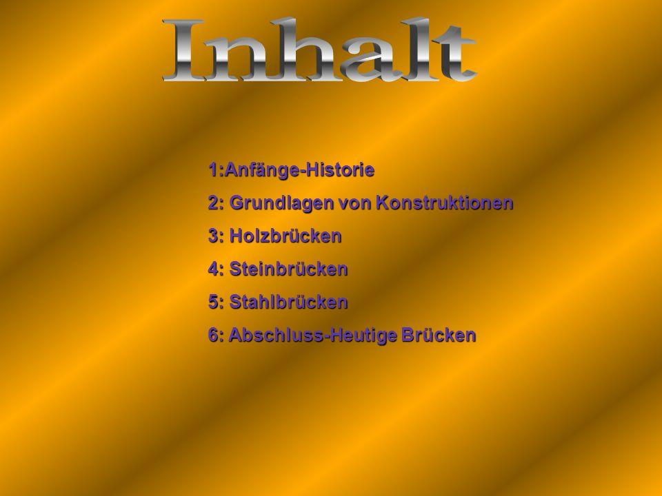 Inhalt 1:Anfänge-Historie 2: Grundlagen von Konstruktionen