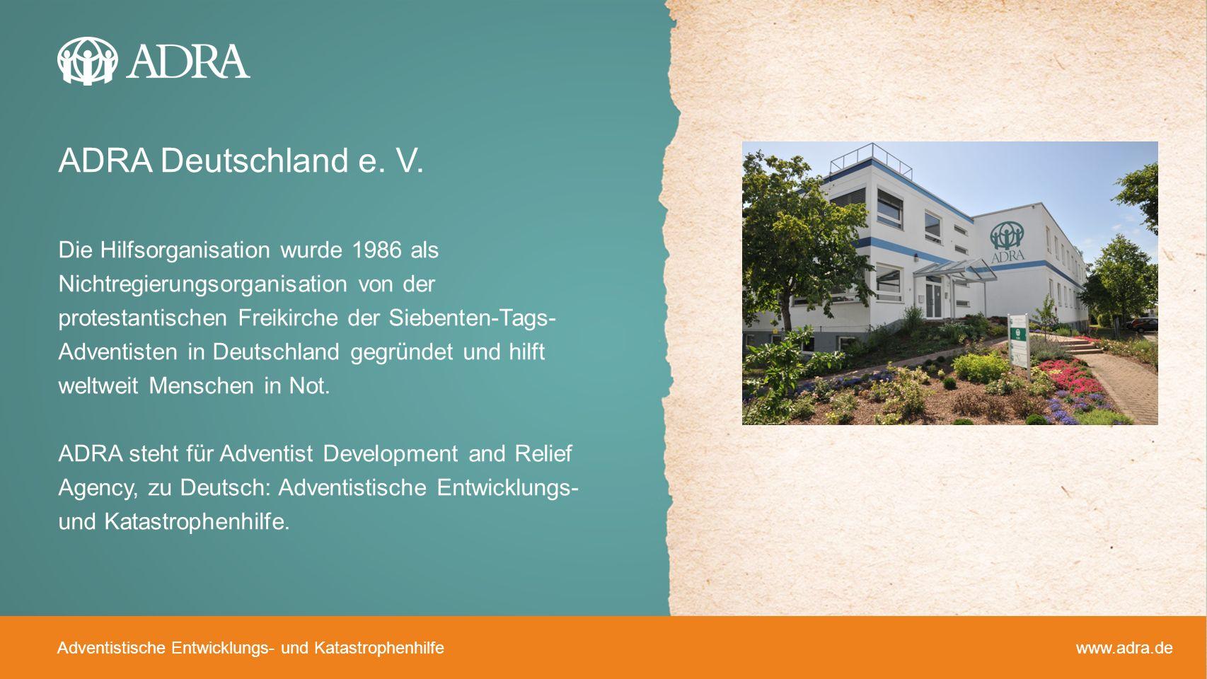 ADRA Deutschland e. V.