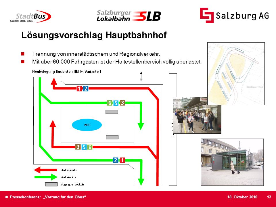 Lösungsvorschlag Hauptbahnhof