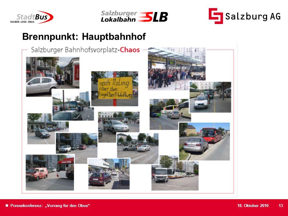 Brennpunkt: Hauptbahnhof