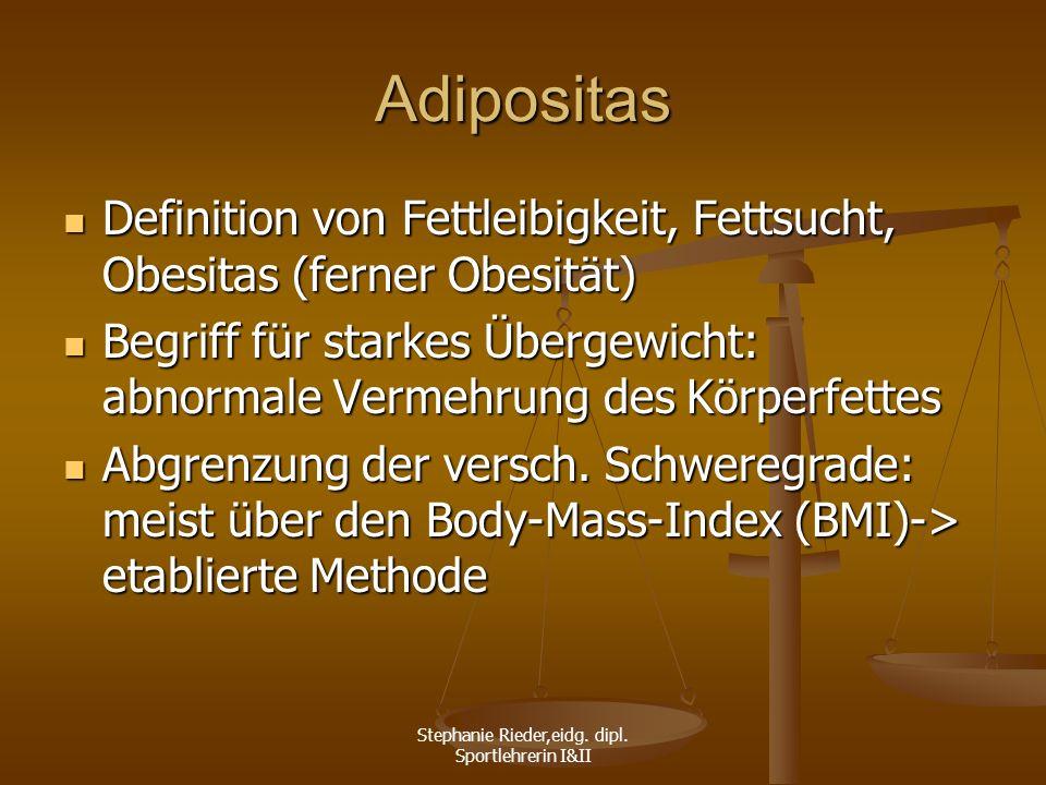 Stephanie Rieder,eidg. dipl. Sportlehrerin I&II