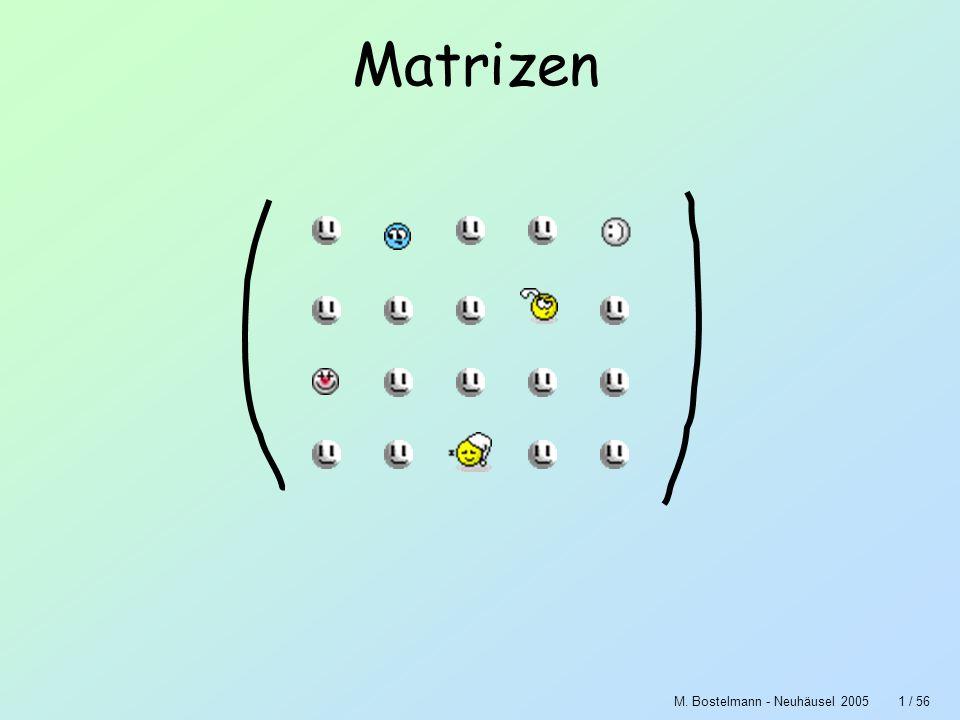 Matrizen M. Bostelmann - Neuhäusel 2005