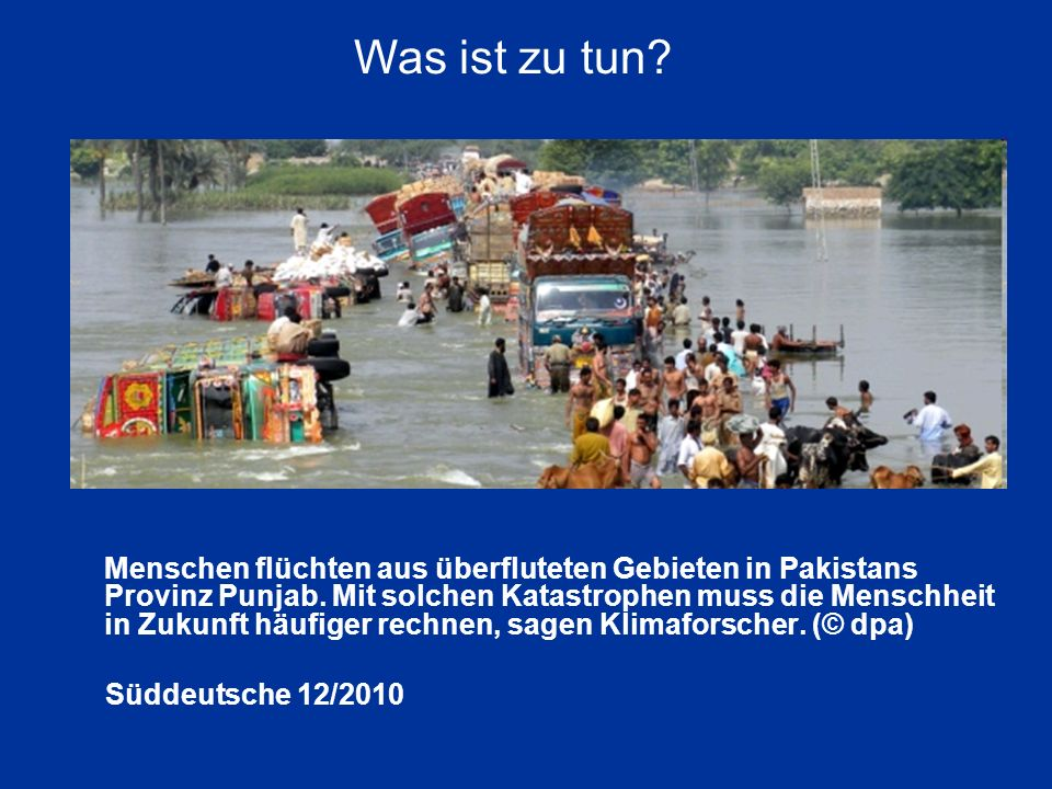 Was ist zu tun Süddeutsche 12/2010