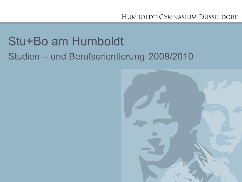 Stu+Bo am Humboldt Studien – und Berufsorientierung 2009/2010