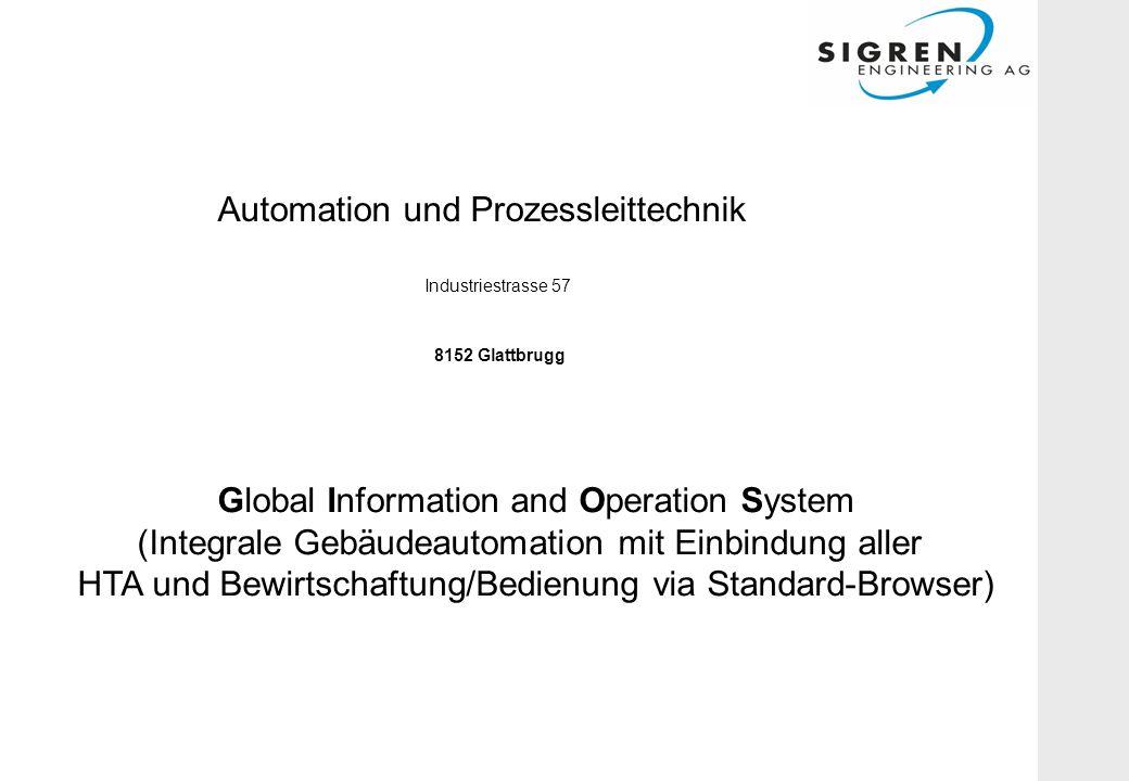 Automation und Prozessleittechnik