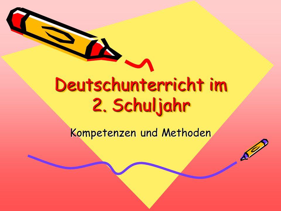 Deutschunterricht im 2. Schuljahr