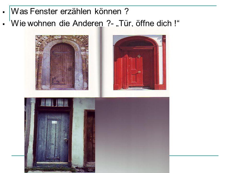Was Fenster erzählen können